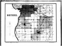 Bethel Township, Oak Grove, Brandt, Miami County 1883
